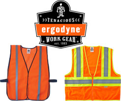 GloWear Orange Safety Vests