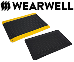 Wearwell Anti-Fatigue Mats & Ergonomic Flooring