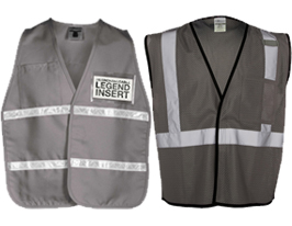 Gray Safety Vests