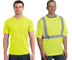 Yellow Safety Shirts