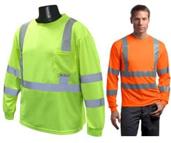 Long Sleeve Safety Shirts