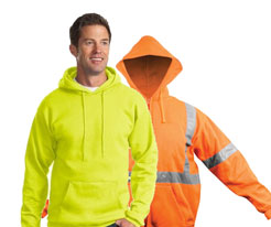 Hooded Safety Sweatshirts
