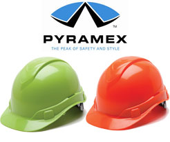 Pyramex High Visibility Hard Hats