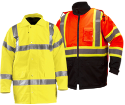 High Visibility Safety Parkas