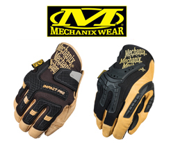 Mechanix Leather Gloves