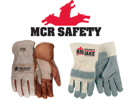 MCR Safety Leather Gloves