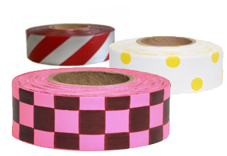 Patterned Flagging Tape