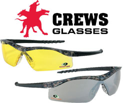 Crews Mossy Oak Dallas Safety Glasses
