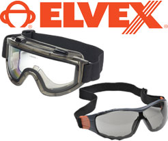 Elvex Safety Goggles