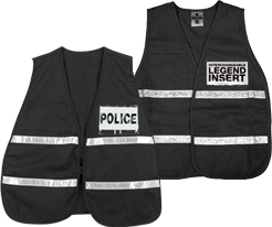 Black Safety Vests