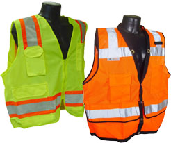 Safety Vests with Pockets