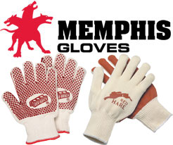 Memphis Nitrile Coated String Knit Gloves