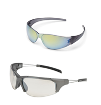 Smoke Frame Safety Glasses
