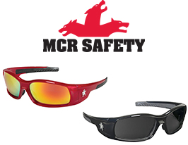 MCR Safety Swagger SR1 Safety Glasses