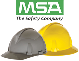 MSA Topgard Hard Hats