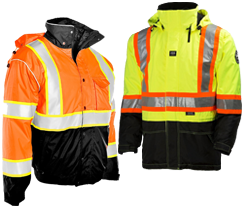 Two-Tone Safety Jackets