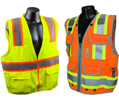 Two-Tone Safety Vests