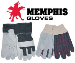 Memphis Leather Palm Gloves