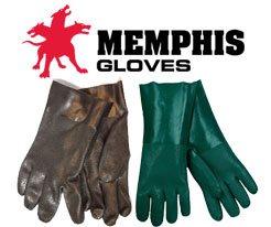 Memphis Double Dipped PVC Gloves