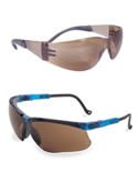 View Brown Lens Safety Glasses