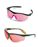 View Pink Lens Safety Glasses