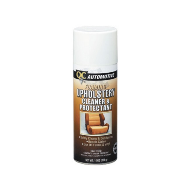 quality care automotive upholstery cleaner protectant. Black Bedroom Furniture Sets. Home Design Ideas