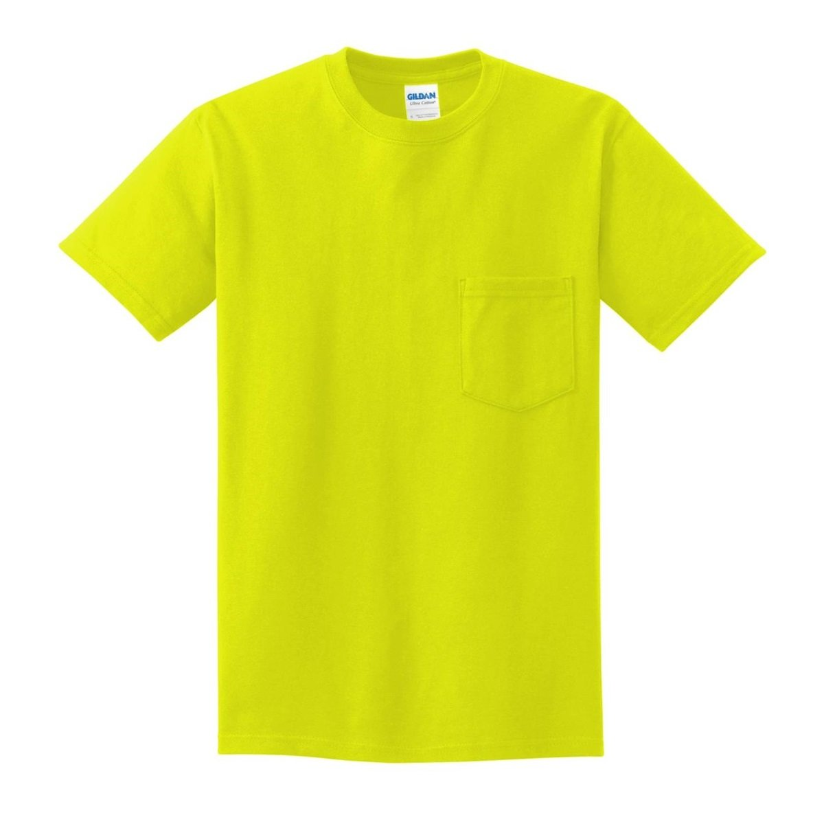 gildan 2300 ultra cotton t shirt with pocket safety