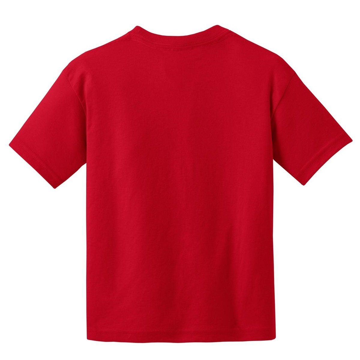Gildan 8000b youth dryblend t shirt red for Where are gildan t shirts made