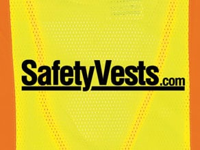 Custom Vinyl Heat Transfer Safety Vests Example