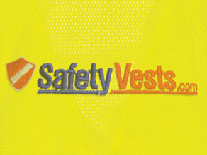 Custom Embroidery Safety Vests Example