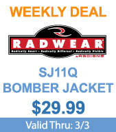 Save on Radians SJ11Q Bomber Jackets!