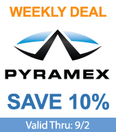 Save on Pyramex Hard Hats and Safety Vests!