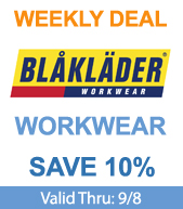 Save on Blaklader Workwear!