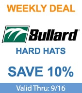 Save on Bullard Hard Hats!