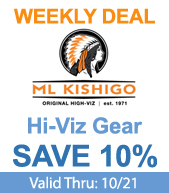 Save on ML Kishigo Hi-Viz Gear!