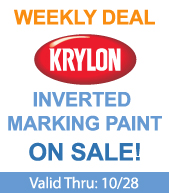 Save on Krylon Inverted Marking Paint!