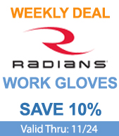 Save on Radians Gloves!