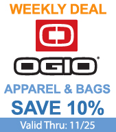 Save on OGIO Products!
