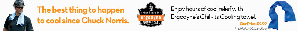 Ergodyne's Chill-Its Cooling Towel